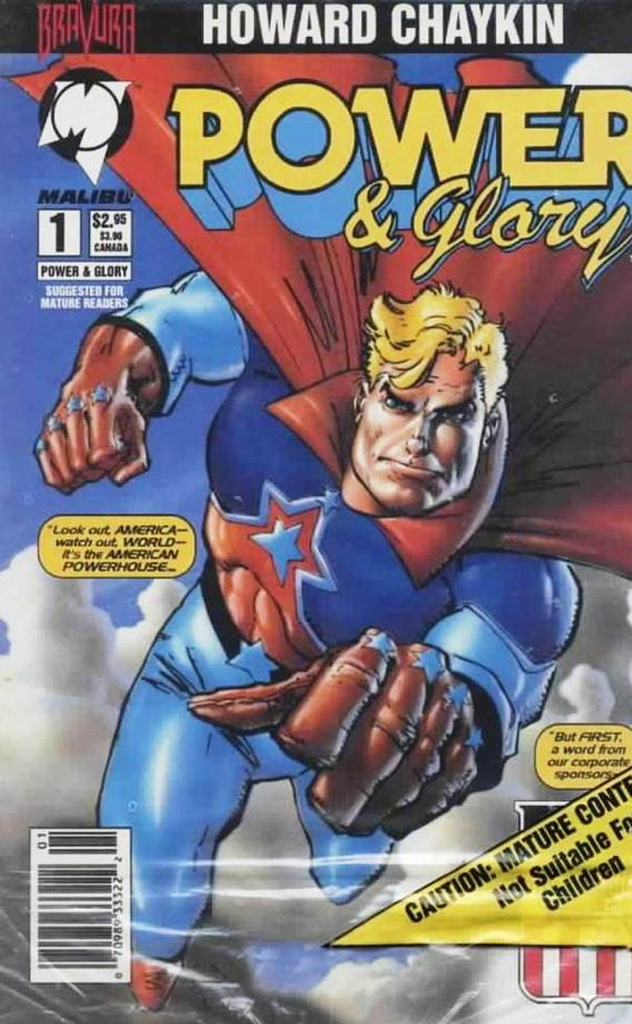 Power & Glory #1 Cover F Newsstand Edition With Polybag