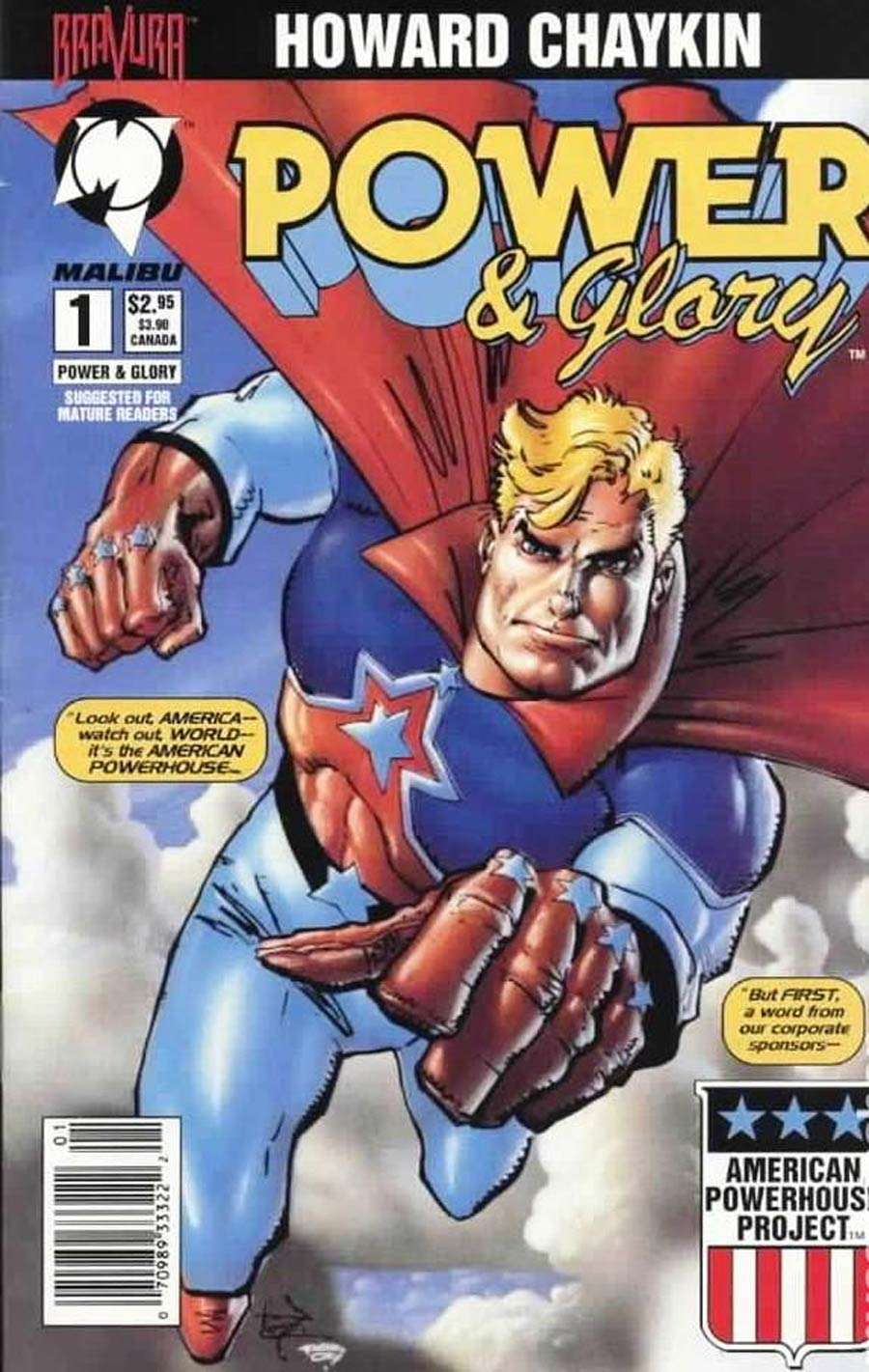 Power & Glory #1 Cover G Newsstand Edition Without Polybag