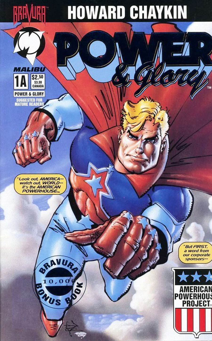 Power & Glory #1 Cover H Blue Foil Edition