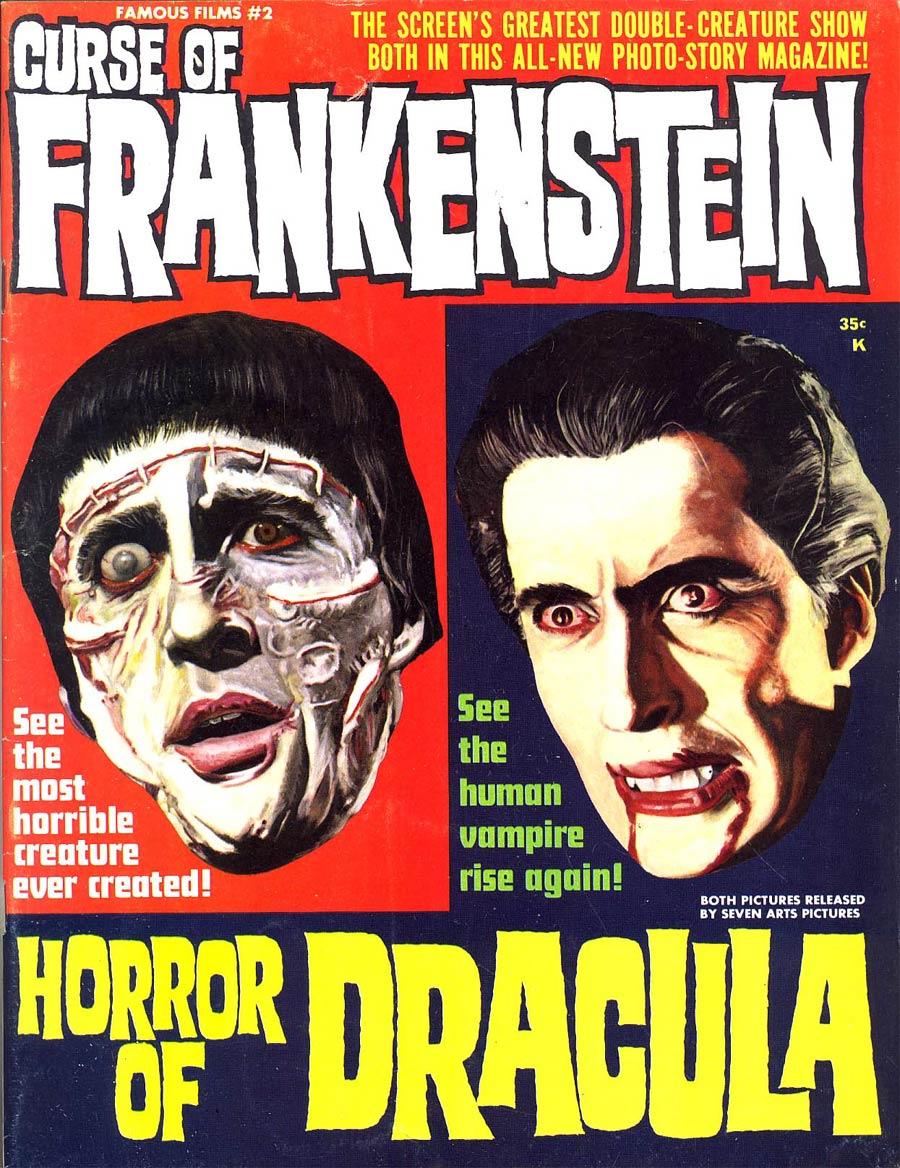 Curse Of Frankenstein Horror of Dracula #2
