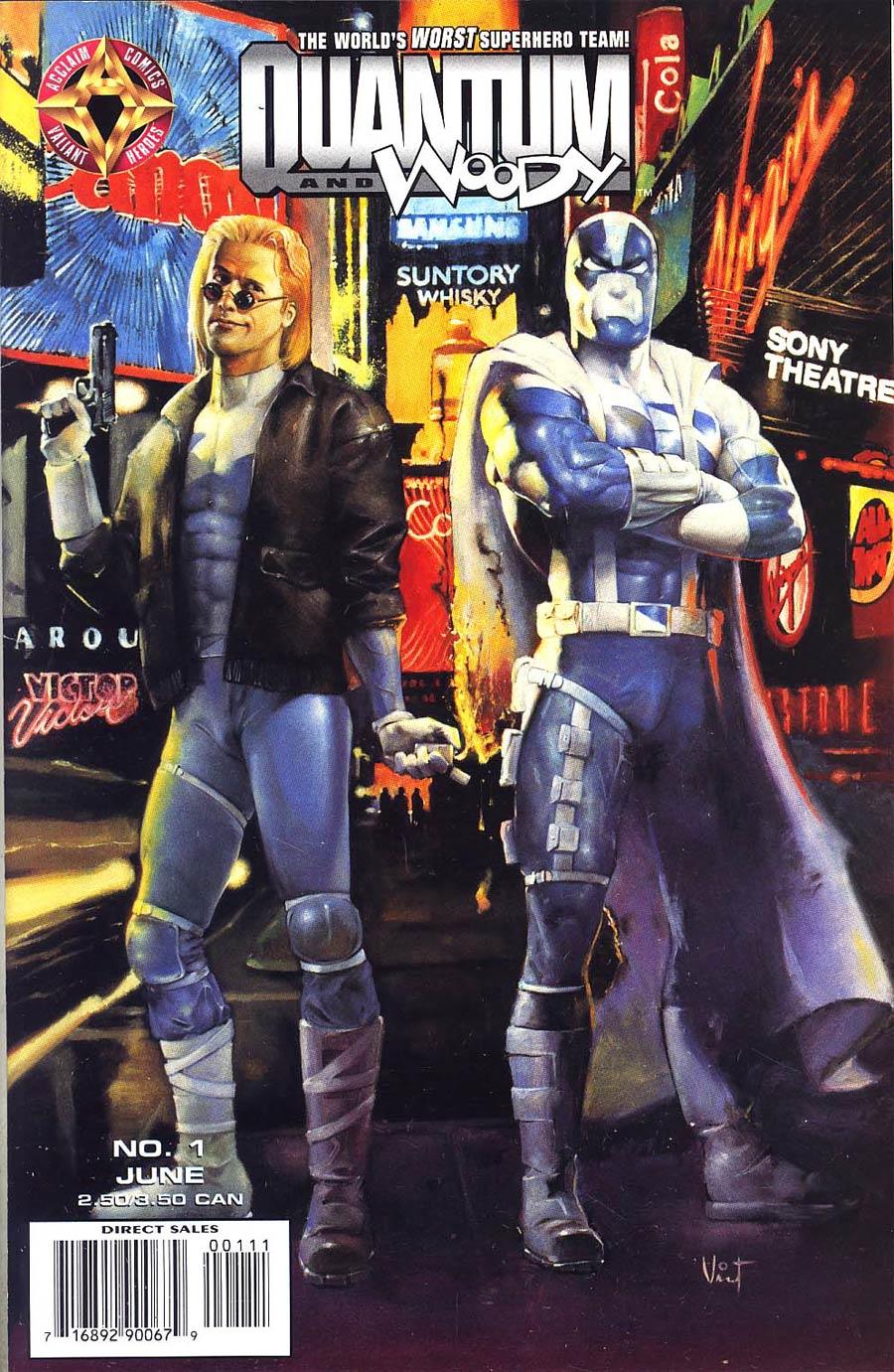 Quantum & Woody #1 Cover B