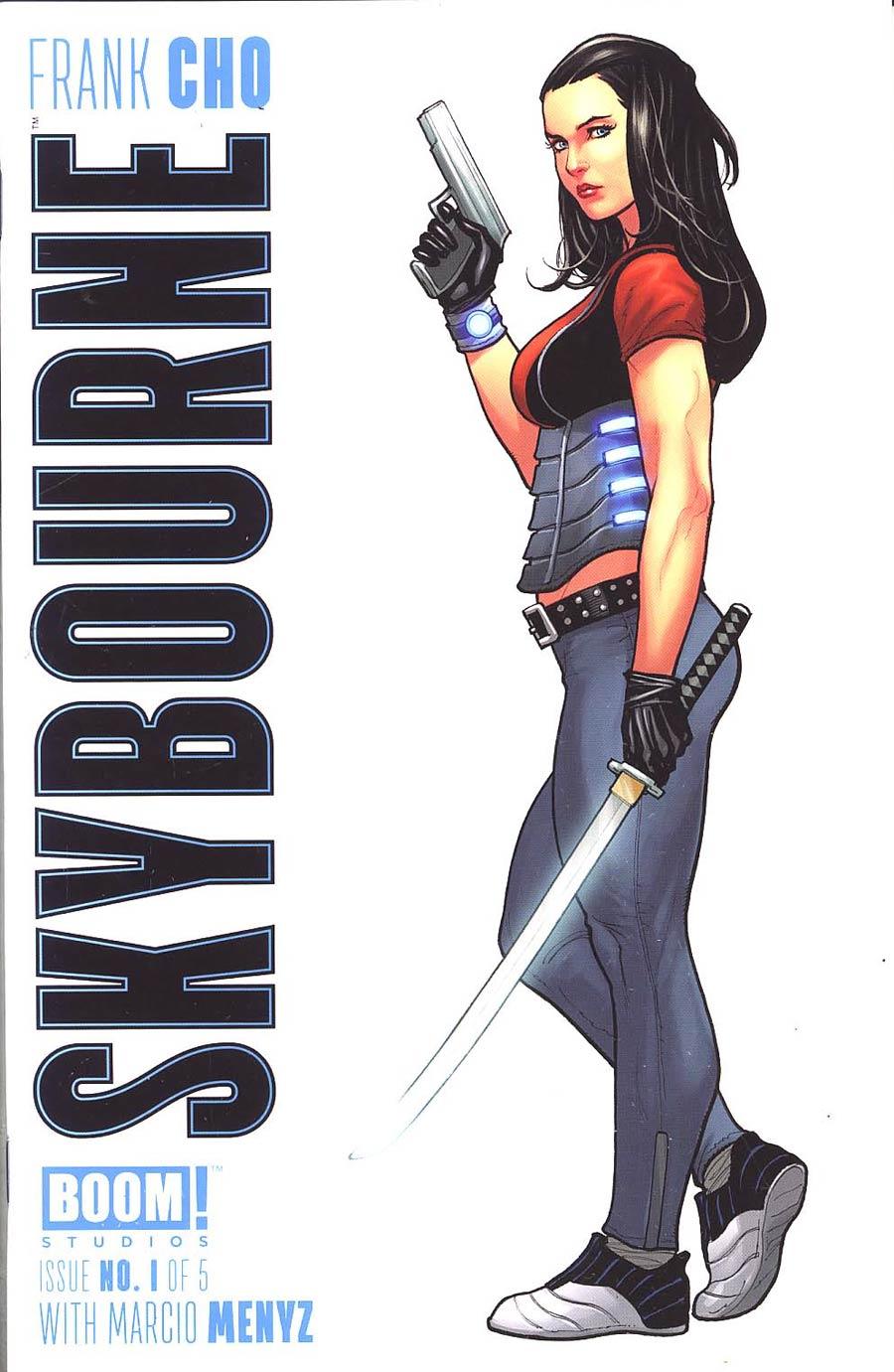 Skybourne #1 Cover F Frank Cho Variant