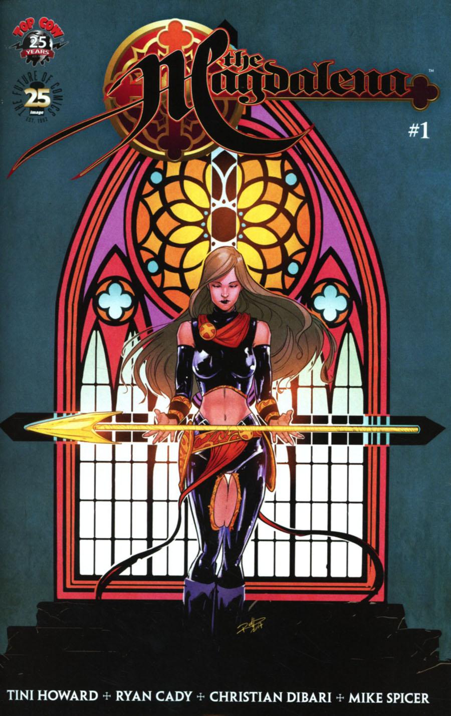 Magdalena Vol 4 #1 Cover B Variant Roberta Ingranata Womens History Month Cover