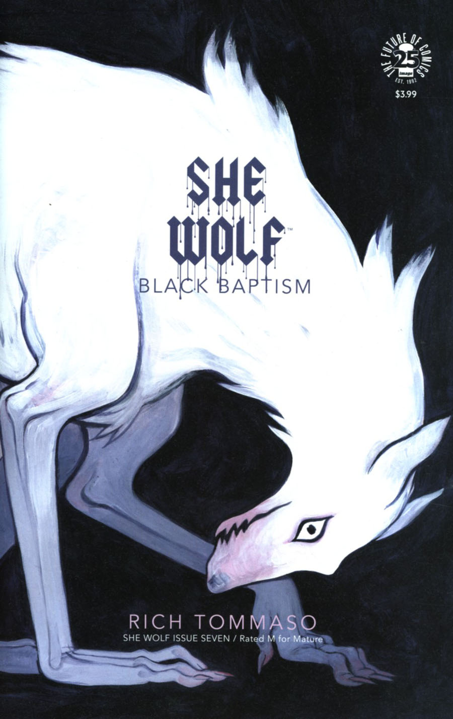 She Wolf #7 Cover B Variant Marian Churchland Womens History Month Cover