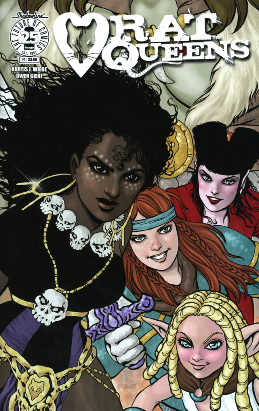 Rat Queens Vol 2 #1 Cover C Variant Colleen Doran Womens History Month Cover