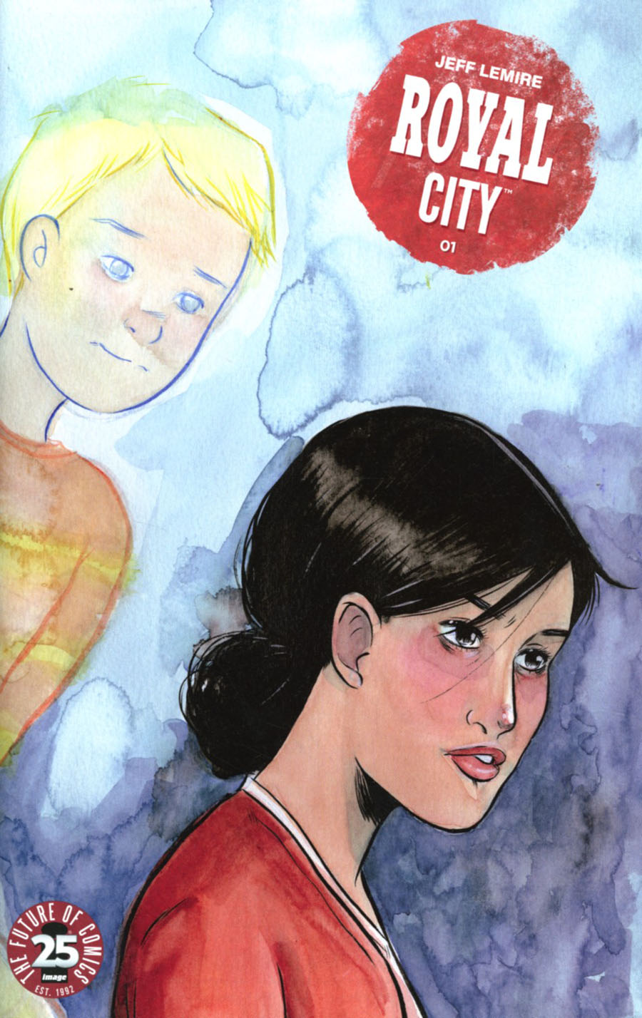 Royal City #1 Cover B Variant Emi Lenox Womens History Month Cover