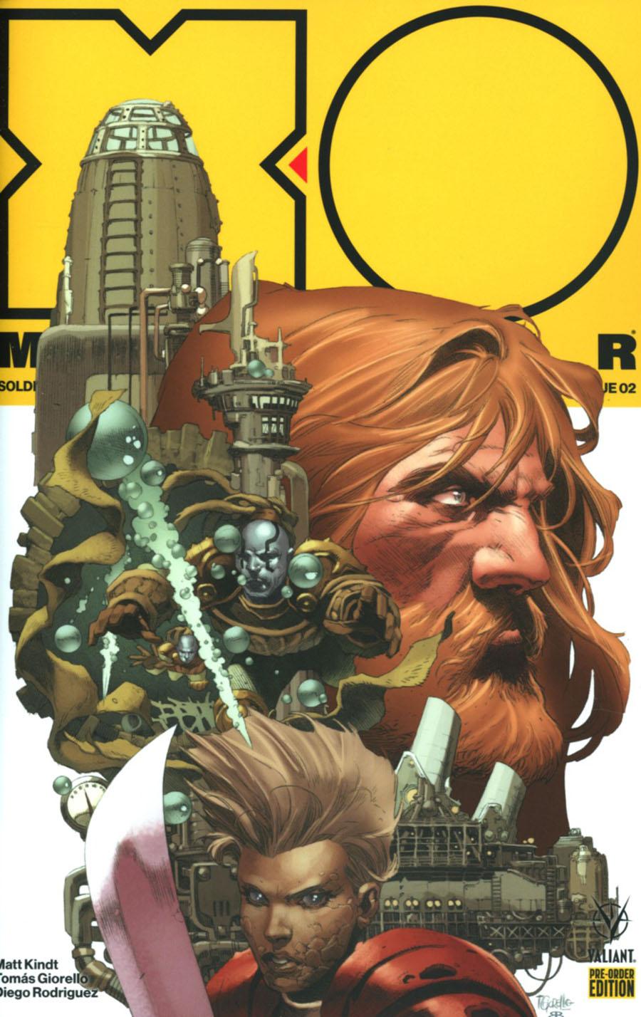 X-O Manowar Vol 4 #2 Cover D Variant Tomas Giorello Cover