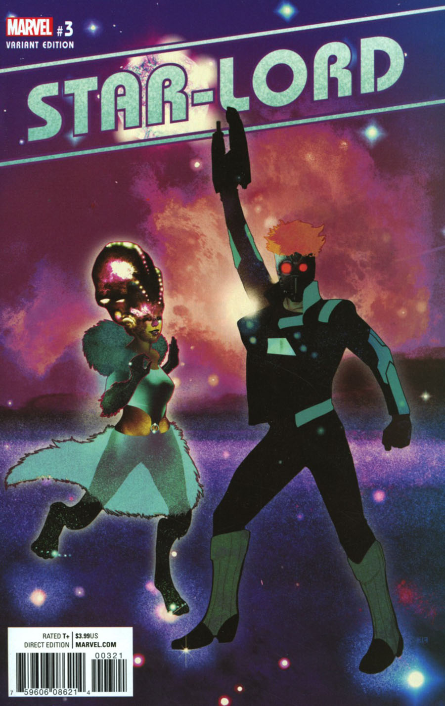 Star-Lord Vol 3 #3 Cover B Incentive Frazer Irving Variant Cover