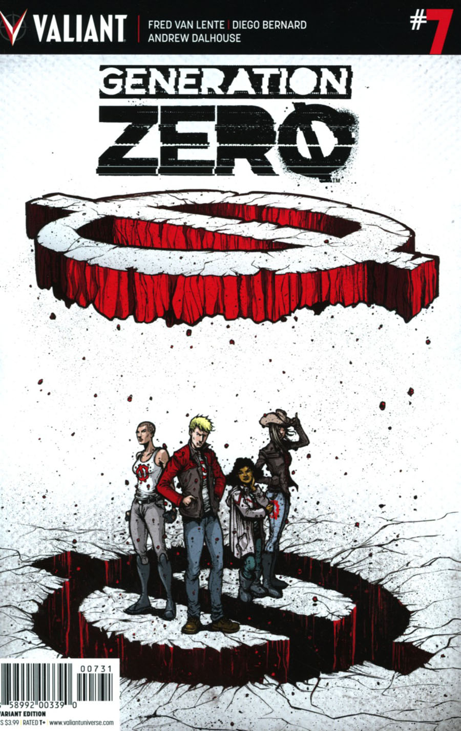 Generation Zero #7 Cover C Incentive Ryan Lee Variant Cover