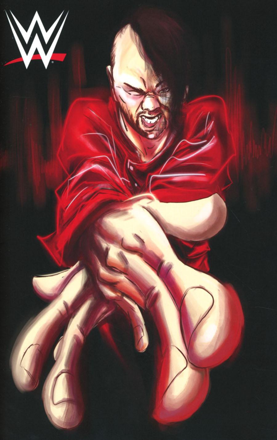 WWE #2 Cover D Incentive Robbi Rodriguez Now Shinsuke Nakamura Virgin Variant Cover