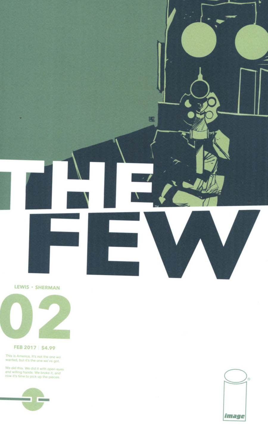 Few #2 Cover B Variant Image Tribute Cover