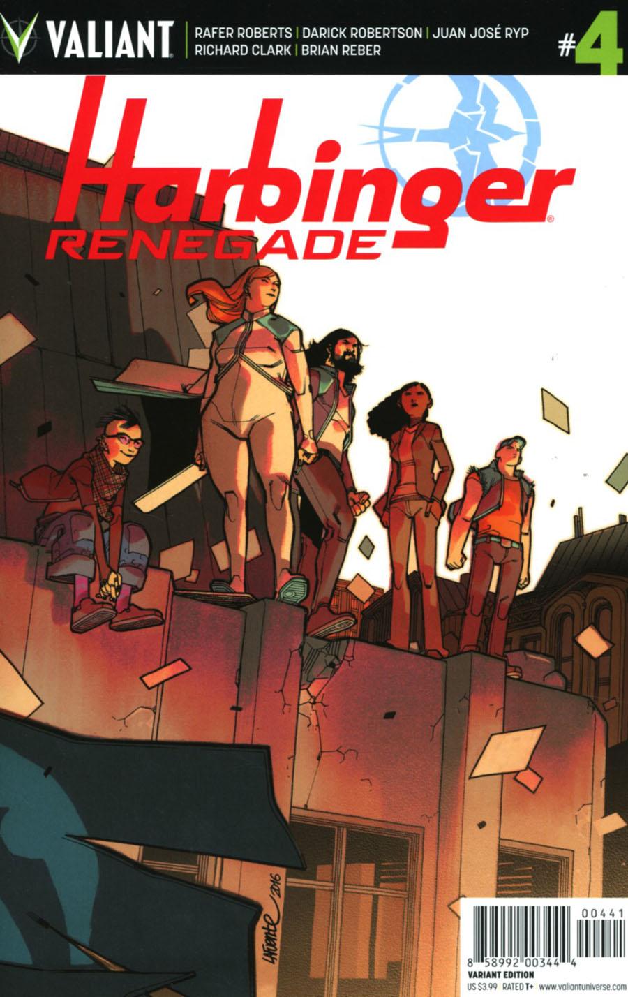Harbinger Renegade #4 Cover D Incentive David Lafuente Variant Cover