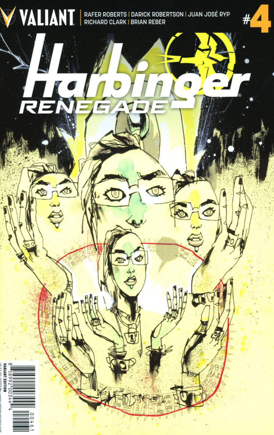 Harbinger Renegade #4 Cover F Incentive Jim Mahfood Variant Cover