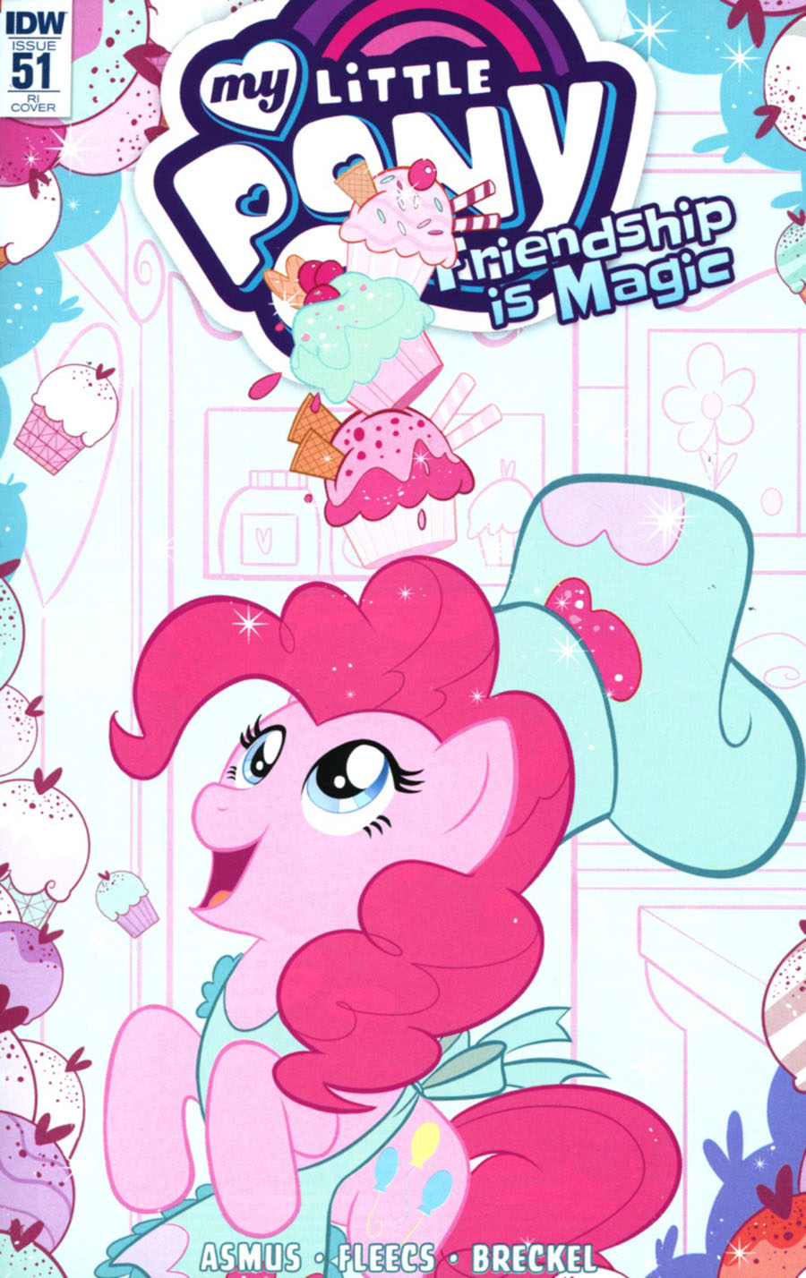My Little Pony Friendship Is Magic #51 Cover C Incentive Nicoletta Baldari Variant Cover