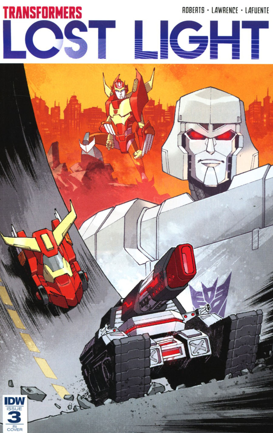 Transformers Lost Light #3 Cover D Incentive Nelson Daniel Variant Cover