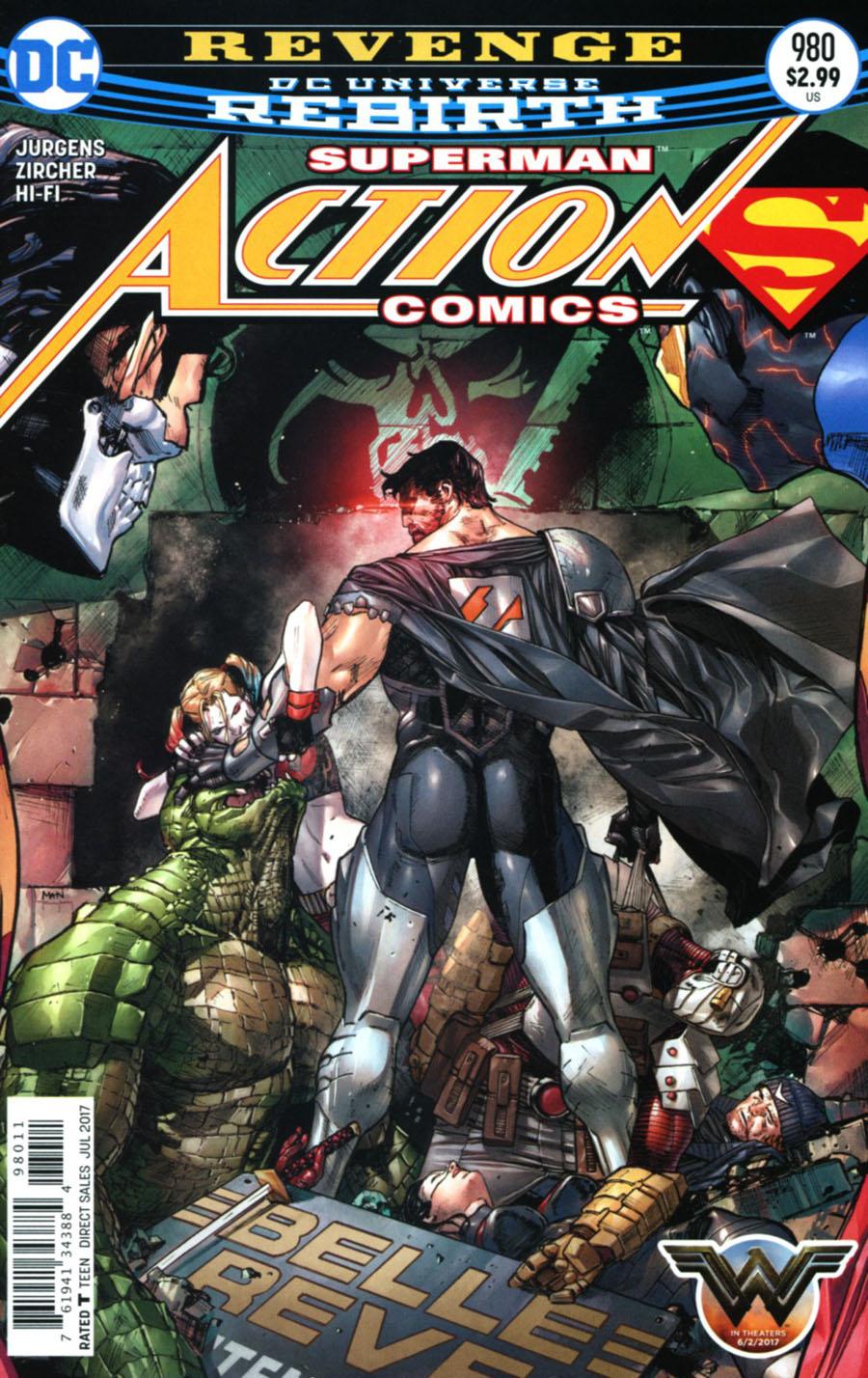 Action Comics Vol 2 #980 Cover A Regular Clay Mann Cover