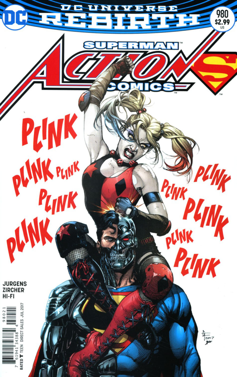 Action Comics Vol 2 #980 Cover B Variant Gary Frank Cover