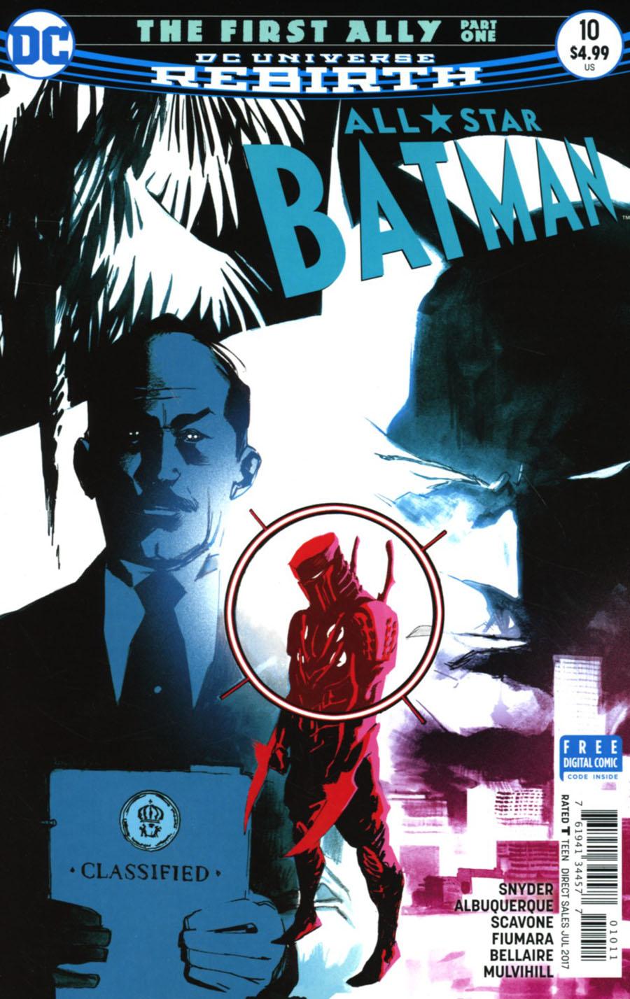 All-Star Batman #10 Cover A Regular Rafael Albuquerque Cover