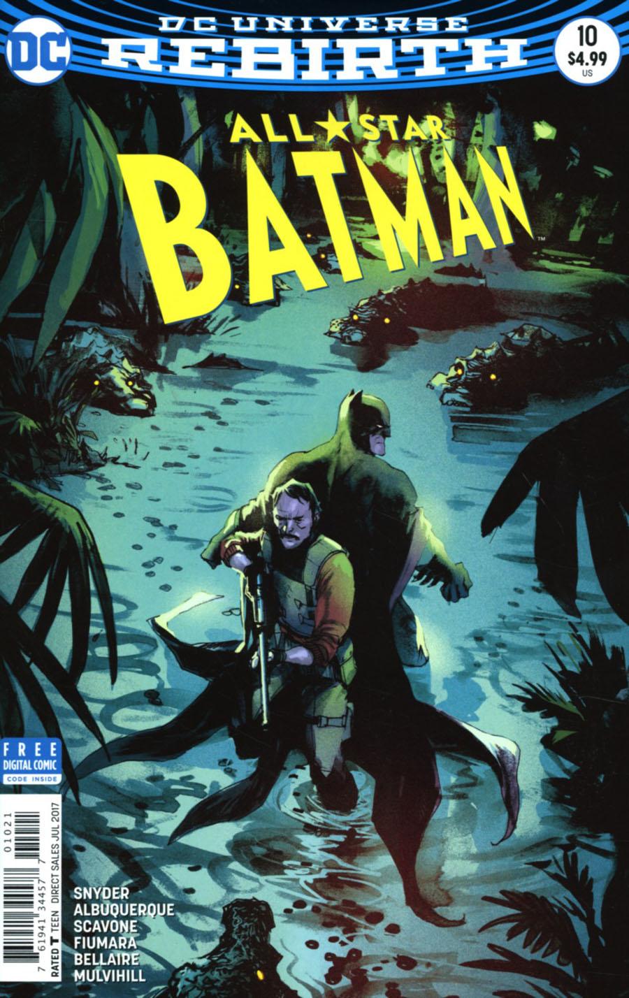All-Star Batman #10 Cover B Variant Rafael Albuquerque Cover