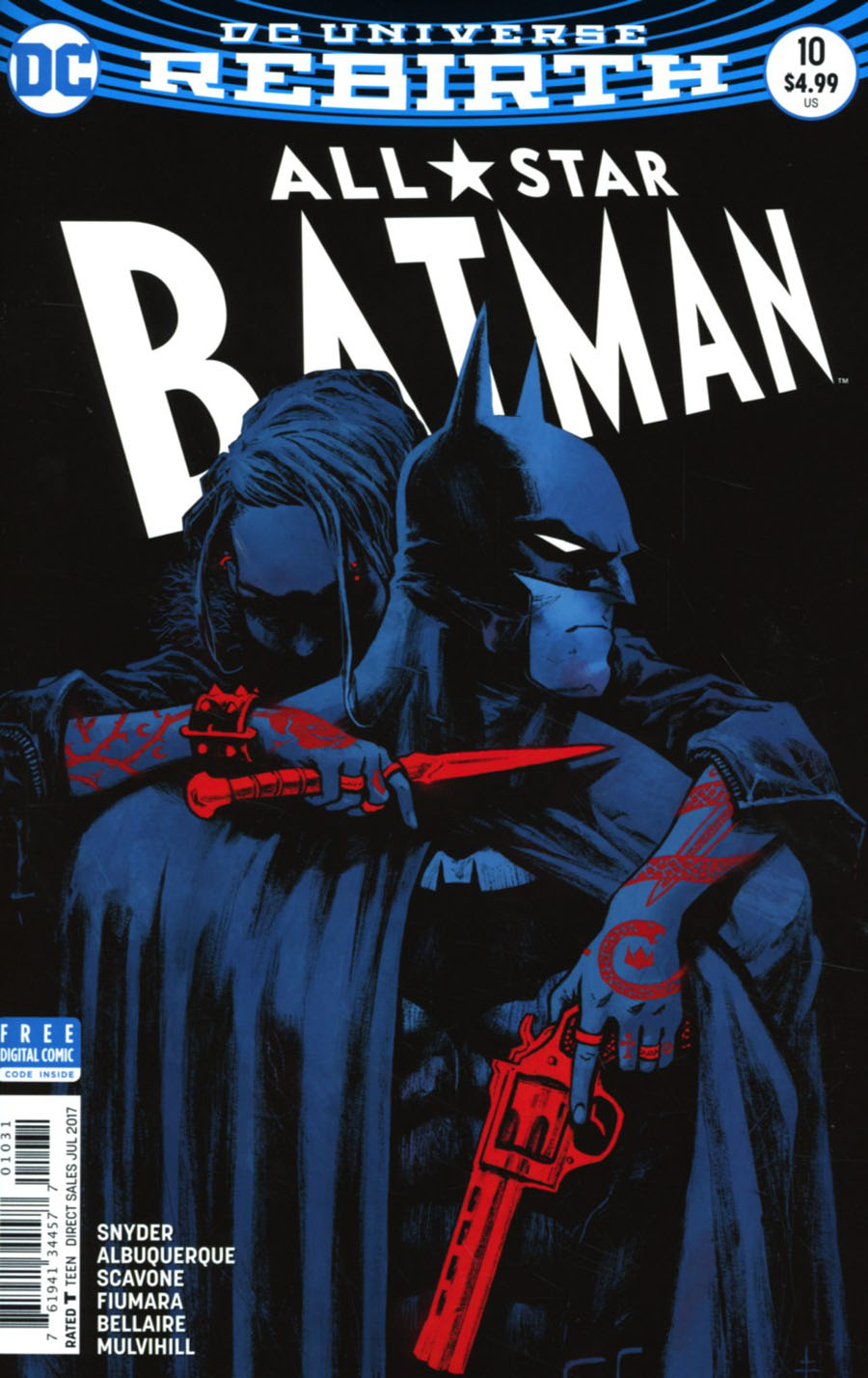All-Star Batman #10 Cover C Variant Sebastian Fiumara Cover