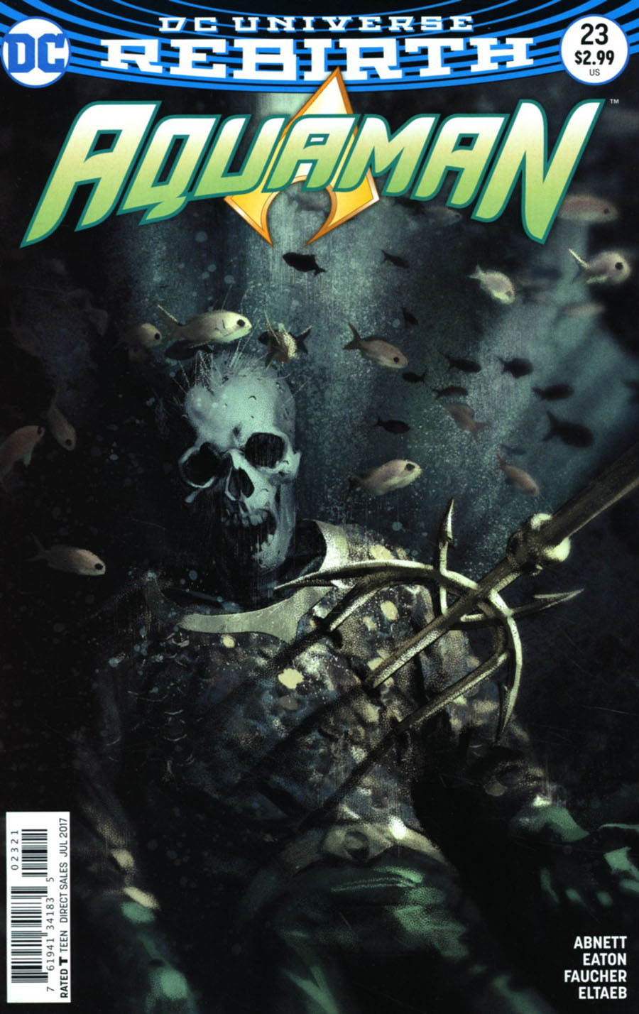 Aquaman Vol 6 #23 Cover B Variant Joshua Middleton Cover
