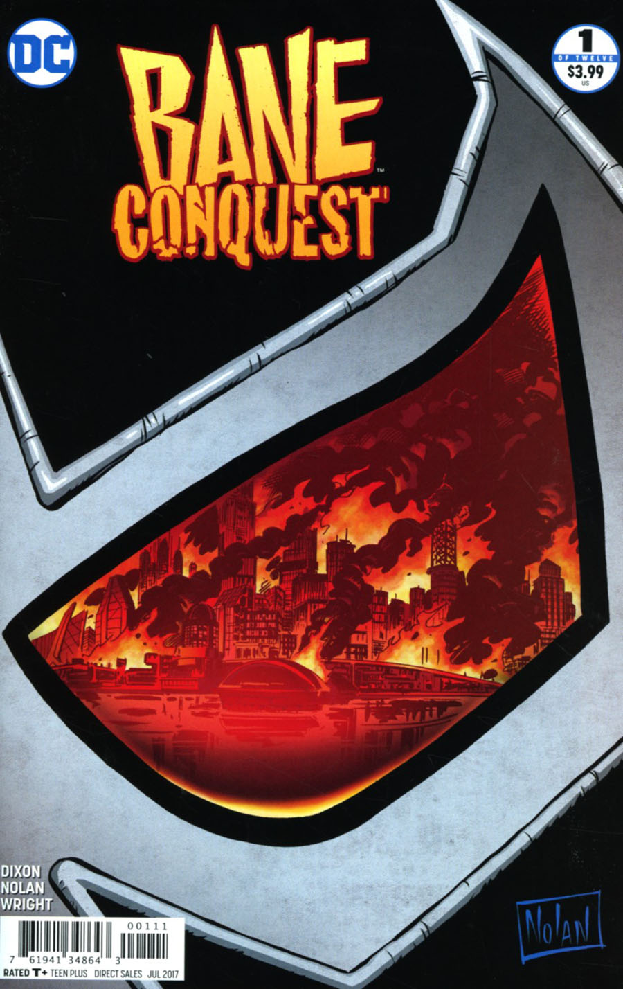 Bane Conquest #1 Cover A Regular Graham Nolan Cover