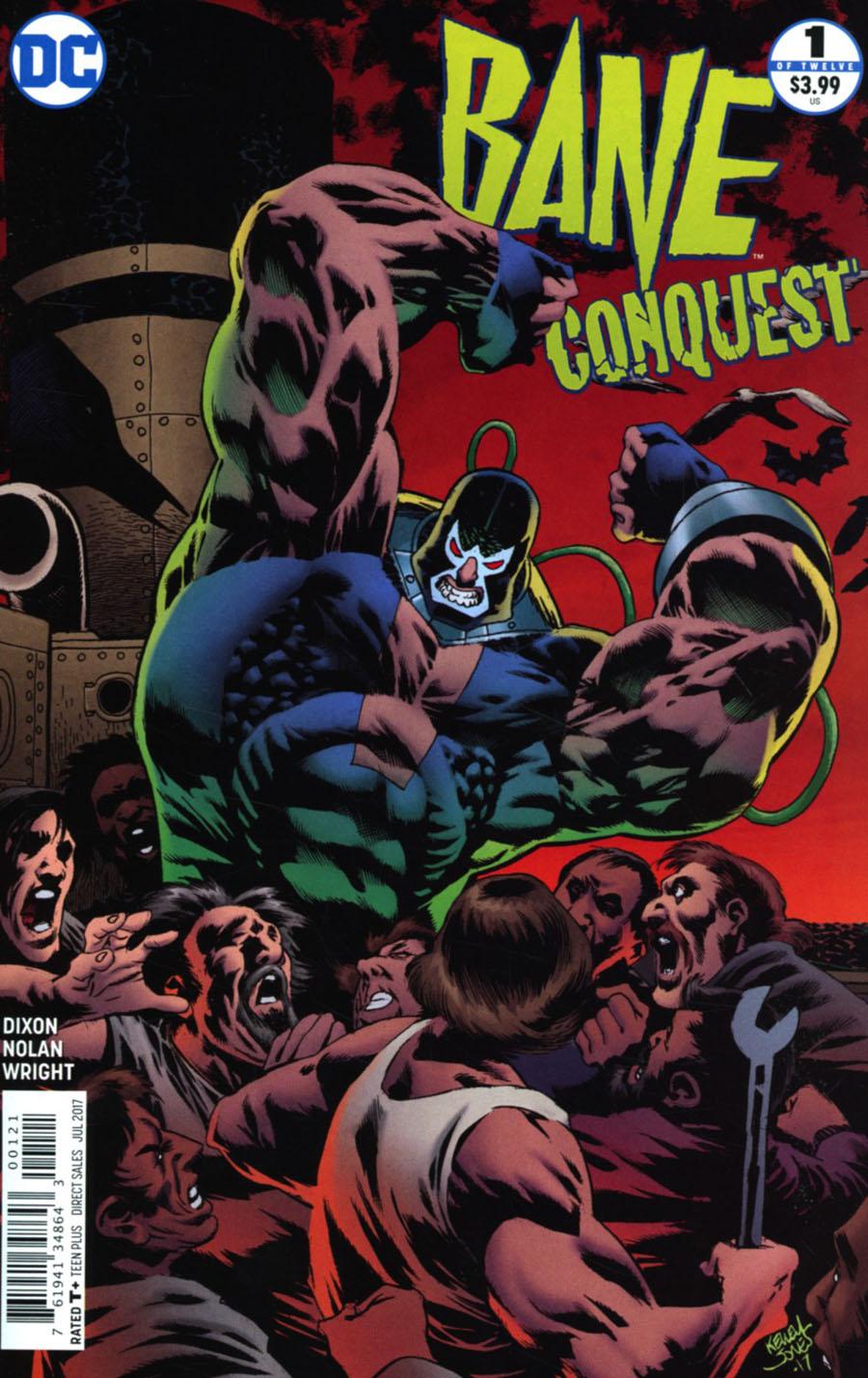 Bane Conquest #1 Cover B Variant Kelley Jones Cover
