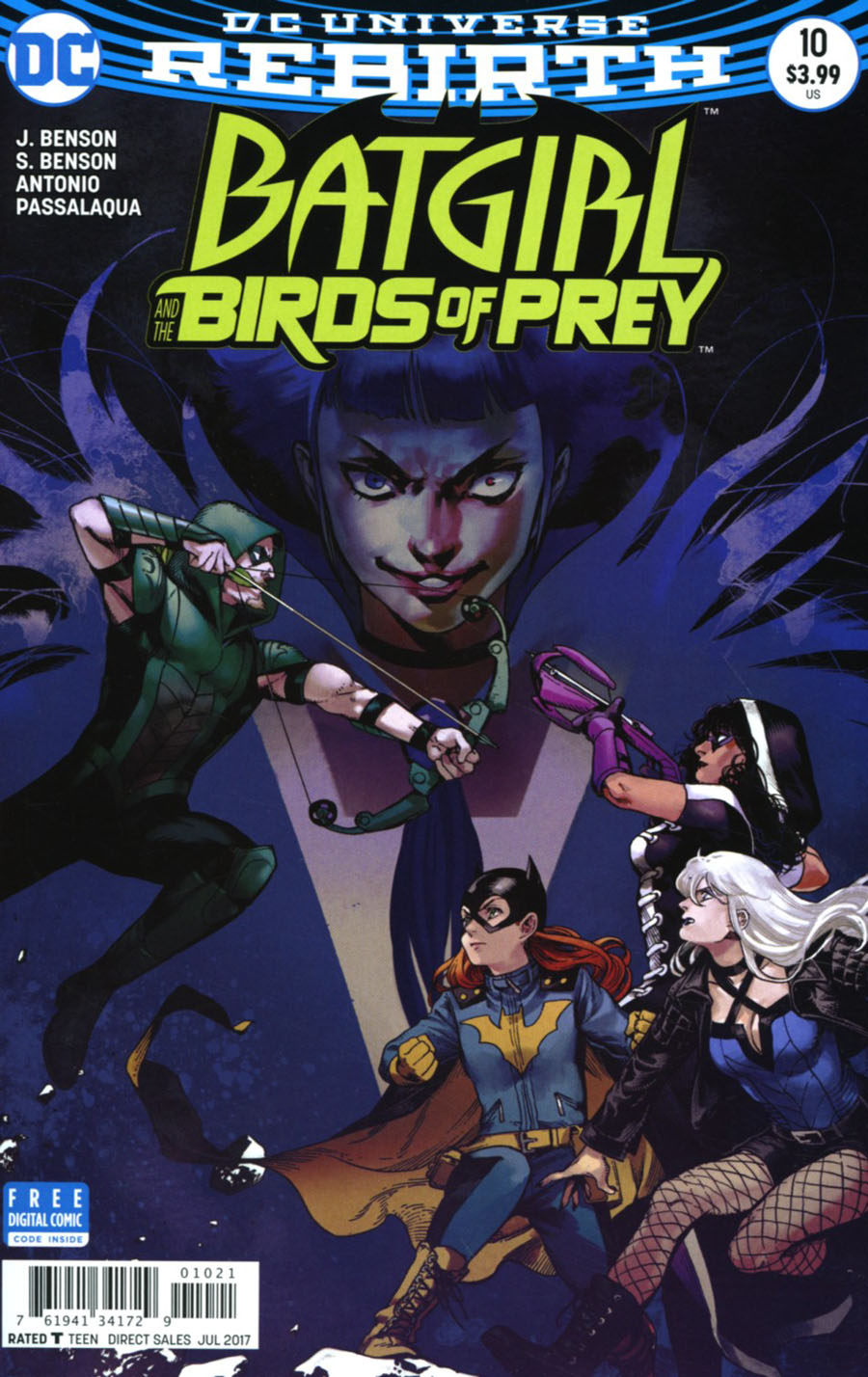 Batgirl And The Birds Of Prey #10 Cover B Variant Kamome Shirahama Cover