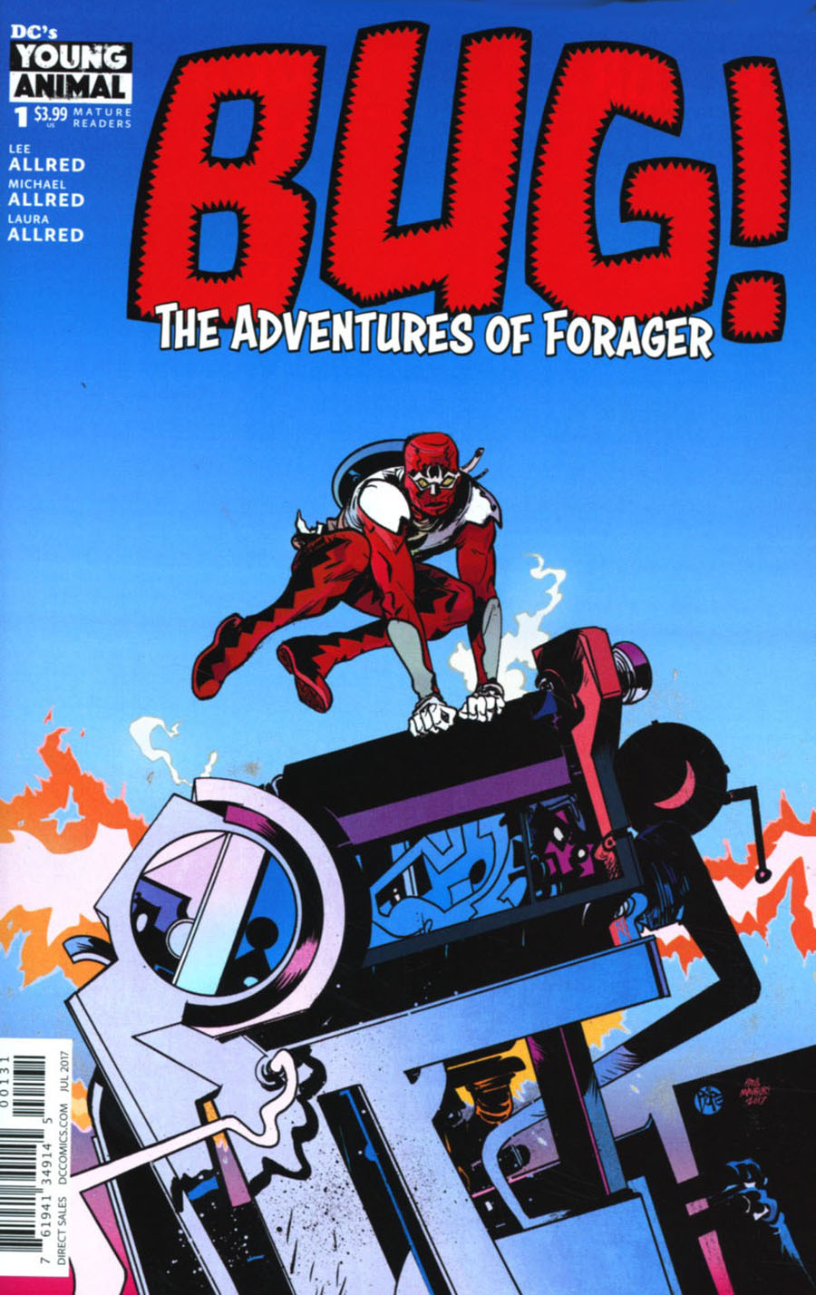 Bug The Adventures Of Forager #1 Cover C Variant Paul Pope Cover