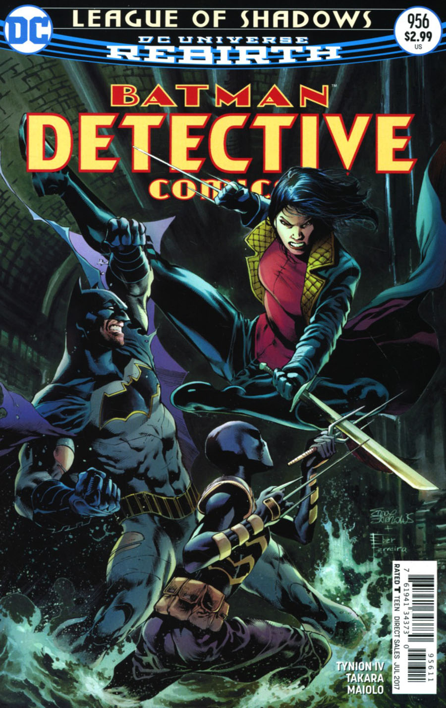 Detective Comics Vol 2 #956 Cover A Regular Eddy Barrows & Eber Ferreira Cover