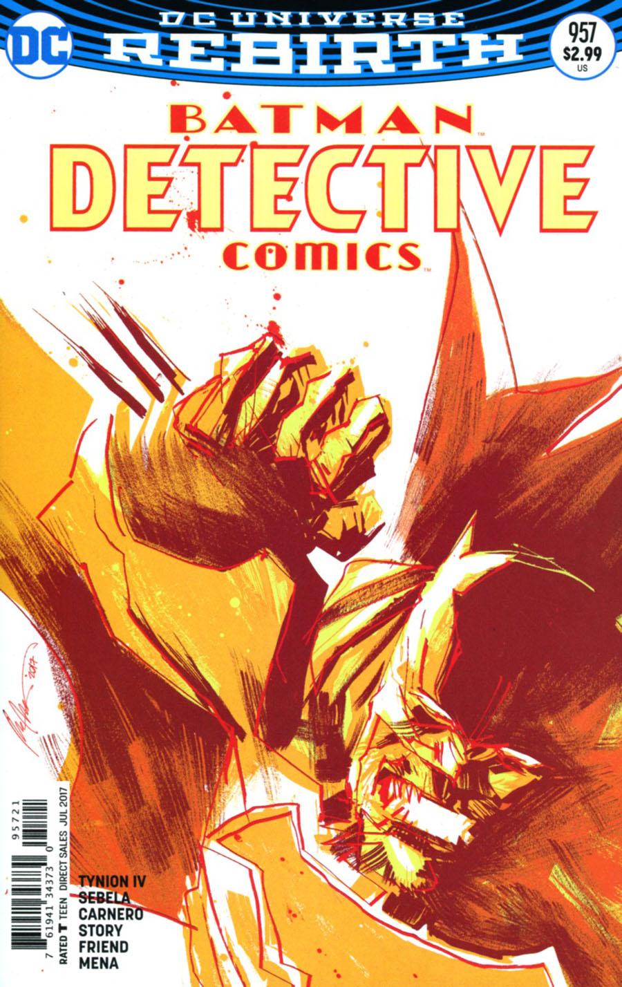 Detective Comics Vol 2 #957 Cover B Variant Rafael Albuquerque Cover