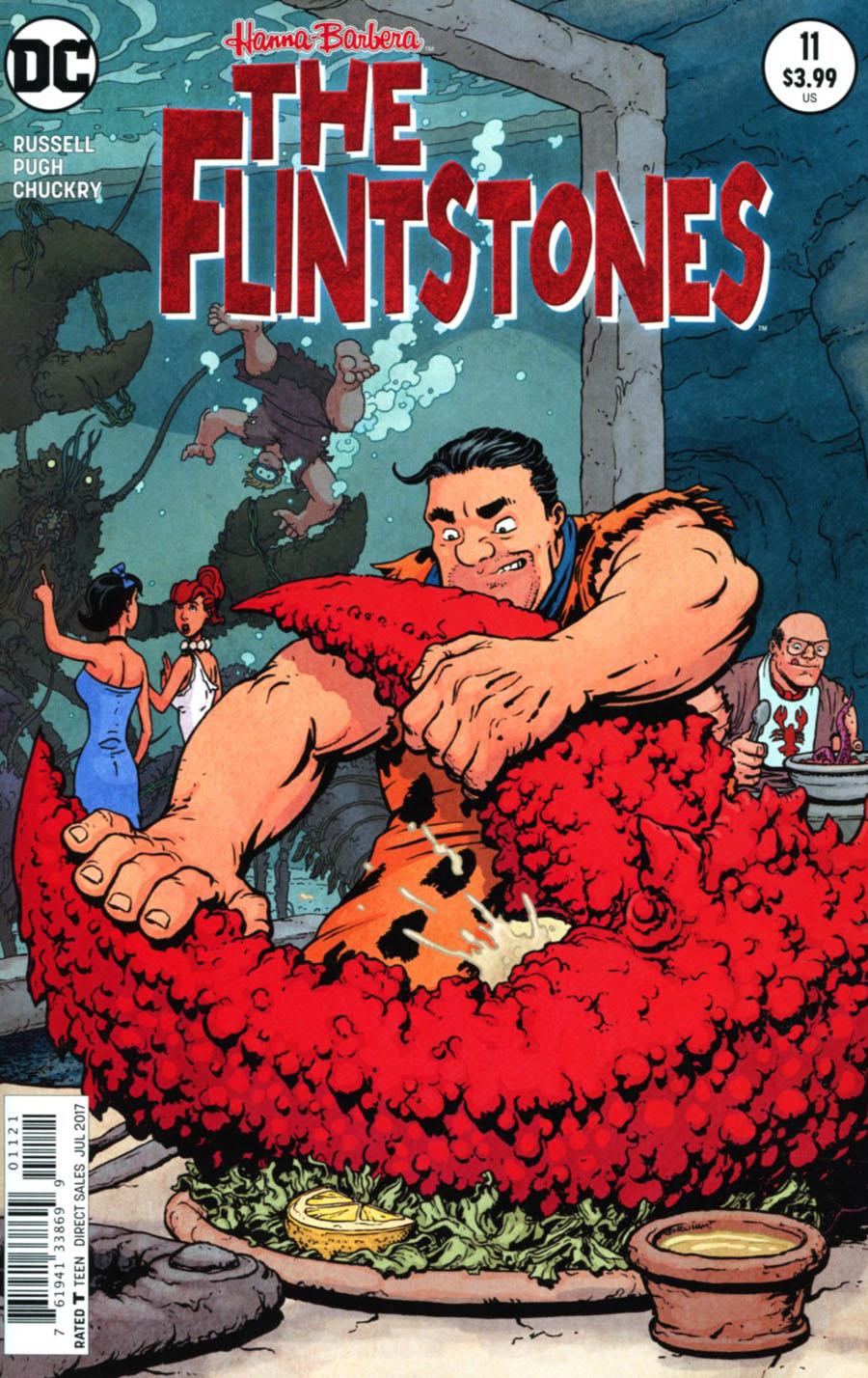 Flintstones (DC) #11 Cover B Variant Chris Burnham Cover