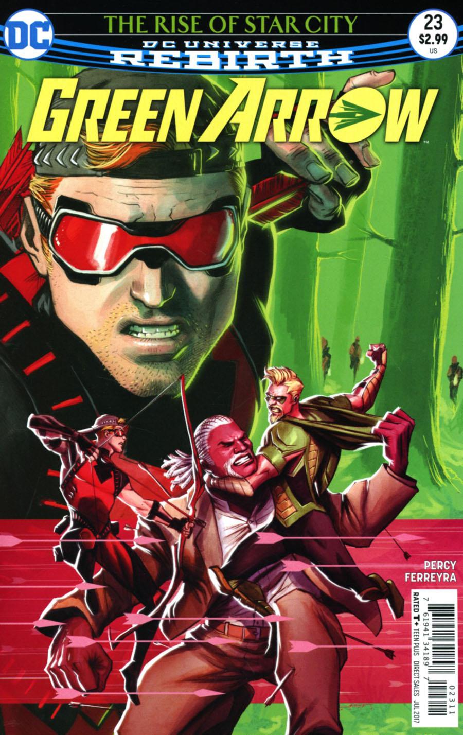 Green Arrow Vol 7 #23 Cover A Regular Juan Ferreyra Cover