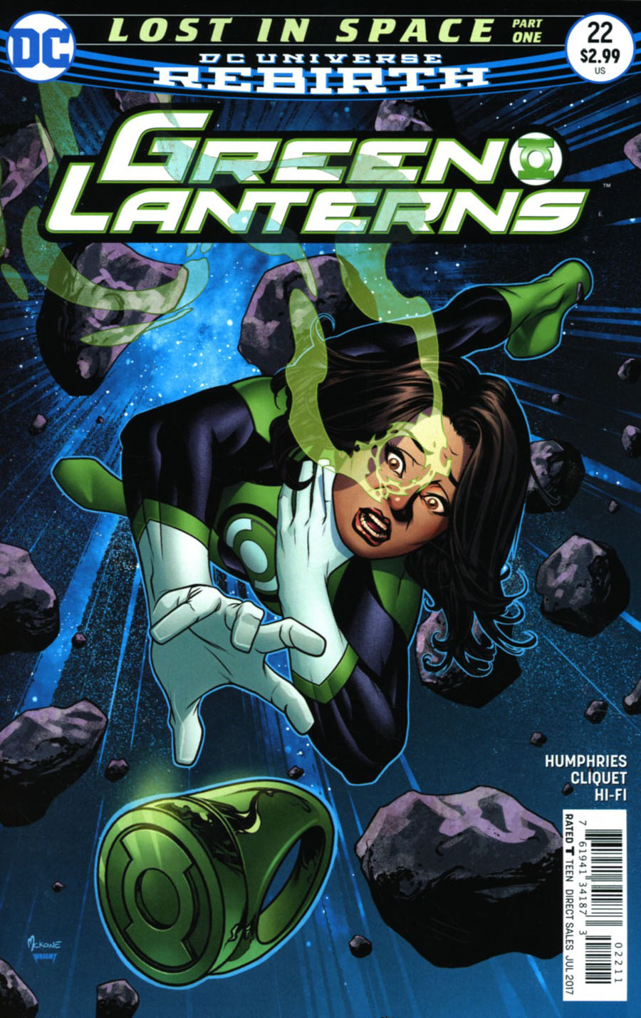 Green Lanterns #22 Cover A Regular Mike McKone Cover