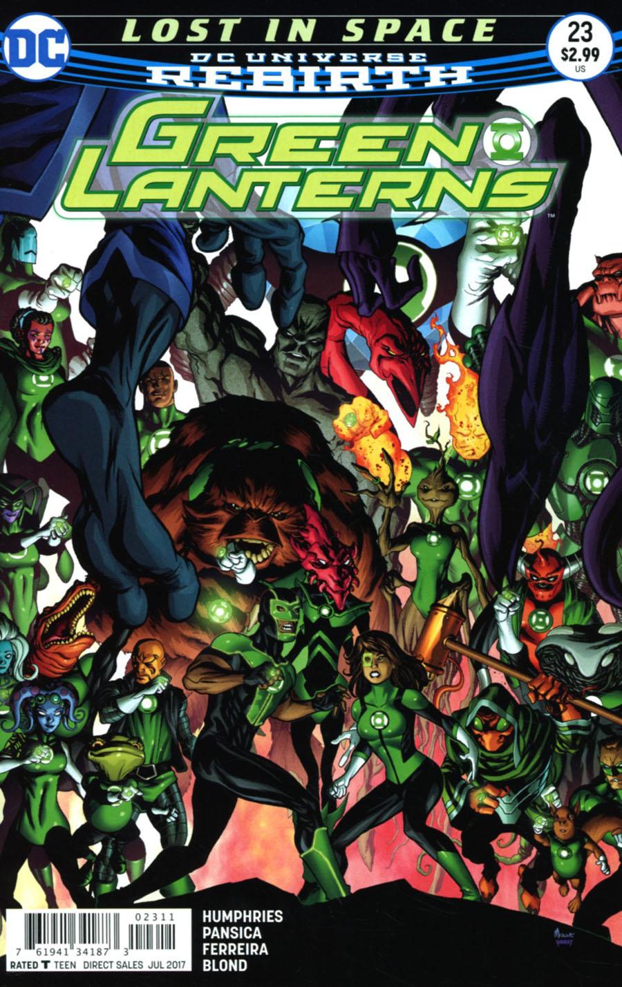 Green Lanterns #23 Cover A Regular Mike McKone Cover