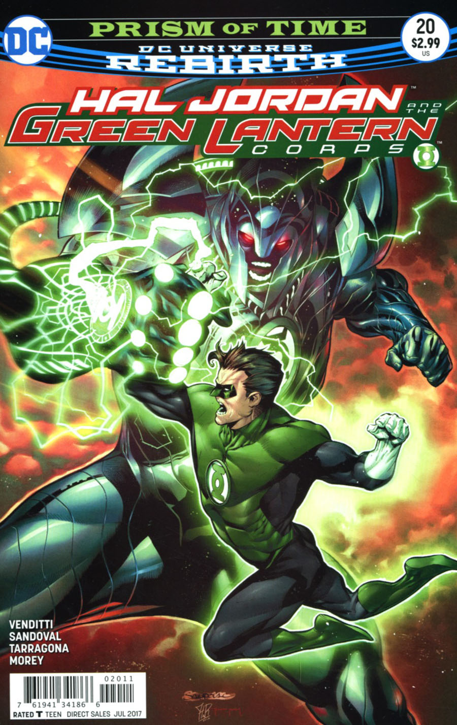 Hal Jordan And The Green Lantern Corps #20 Cover A Regular Rafa Sandoval & Jordi Tarragona Cover