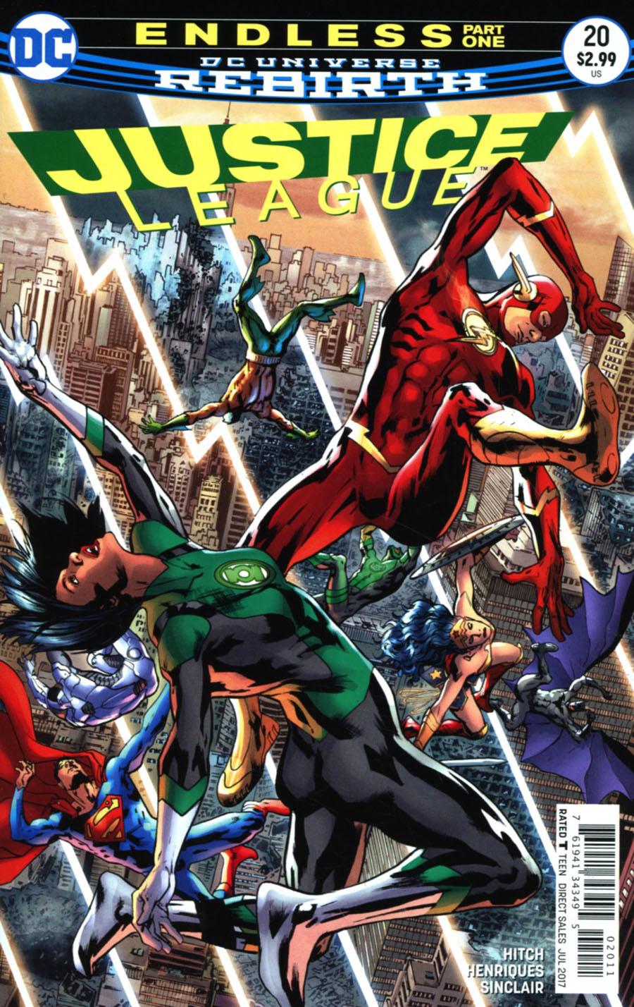 Justice League Vol 3 #20 Cover A Regular Bryan Hitch Cover