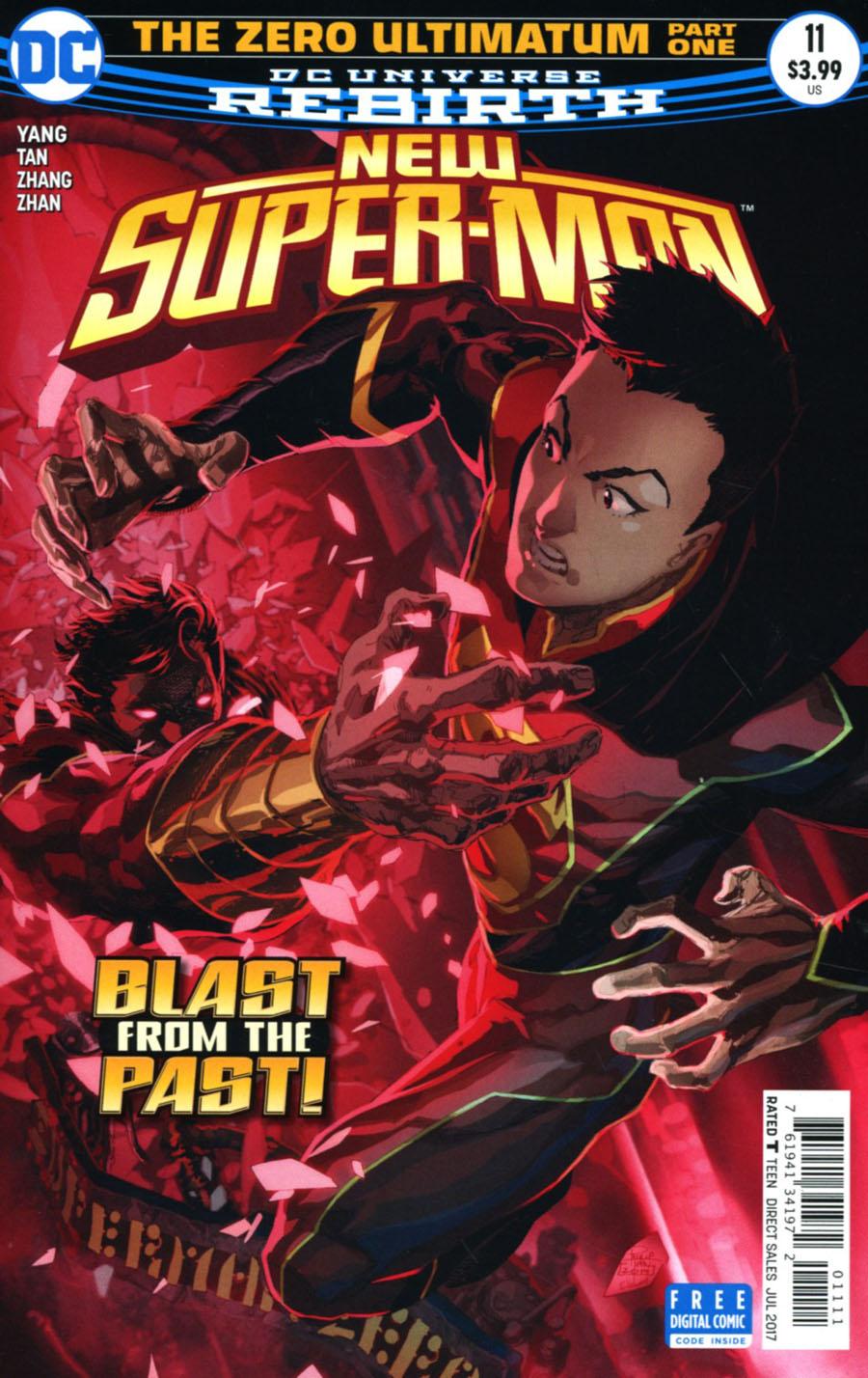 New Super-Man #11 Cover A Regular Philip Tan Cover