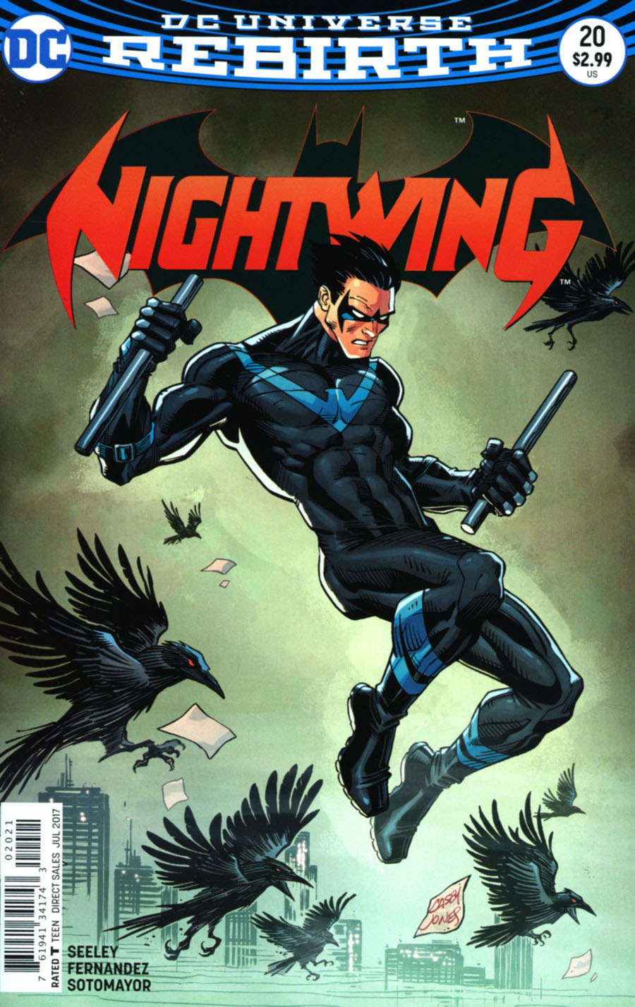 Nightwing Vol 4 #20 Cover B Variant Ivan Reis & Oclair Albert Cover