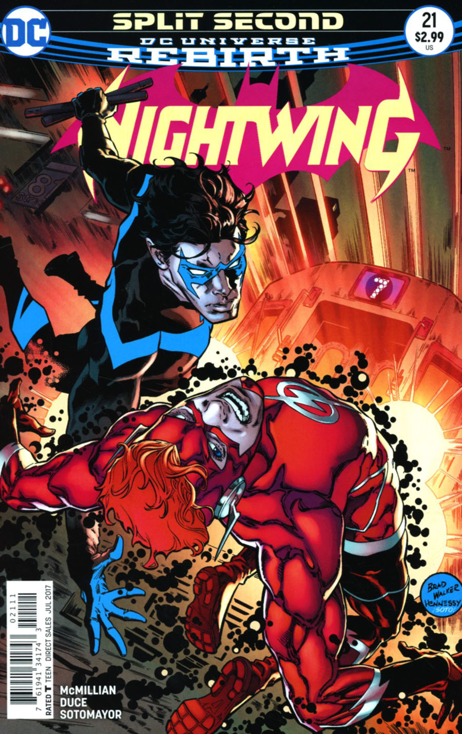 Nightwing Vol 4 #21 Cover A Regular Brad Walker & Andrew Hennessy Cover