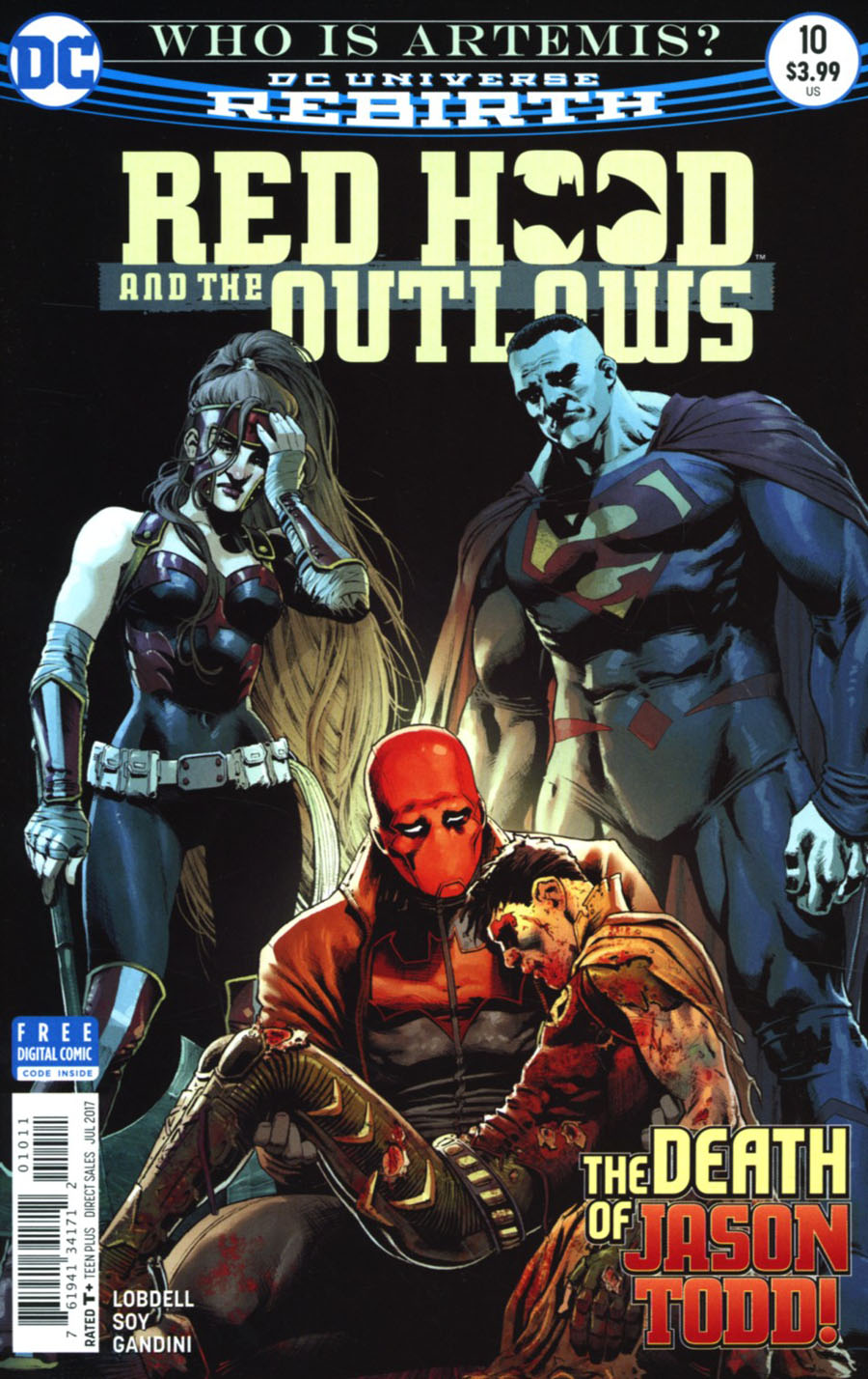 Red Hood And The Outlaws Vol 2 #10 Cover A Regular Nicola Scott Cover
