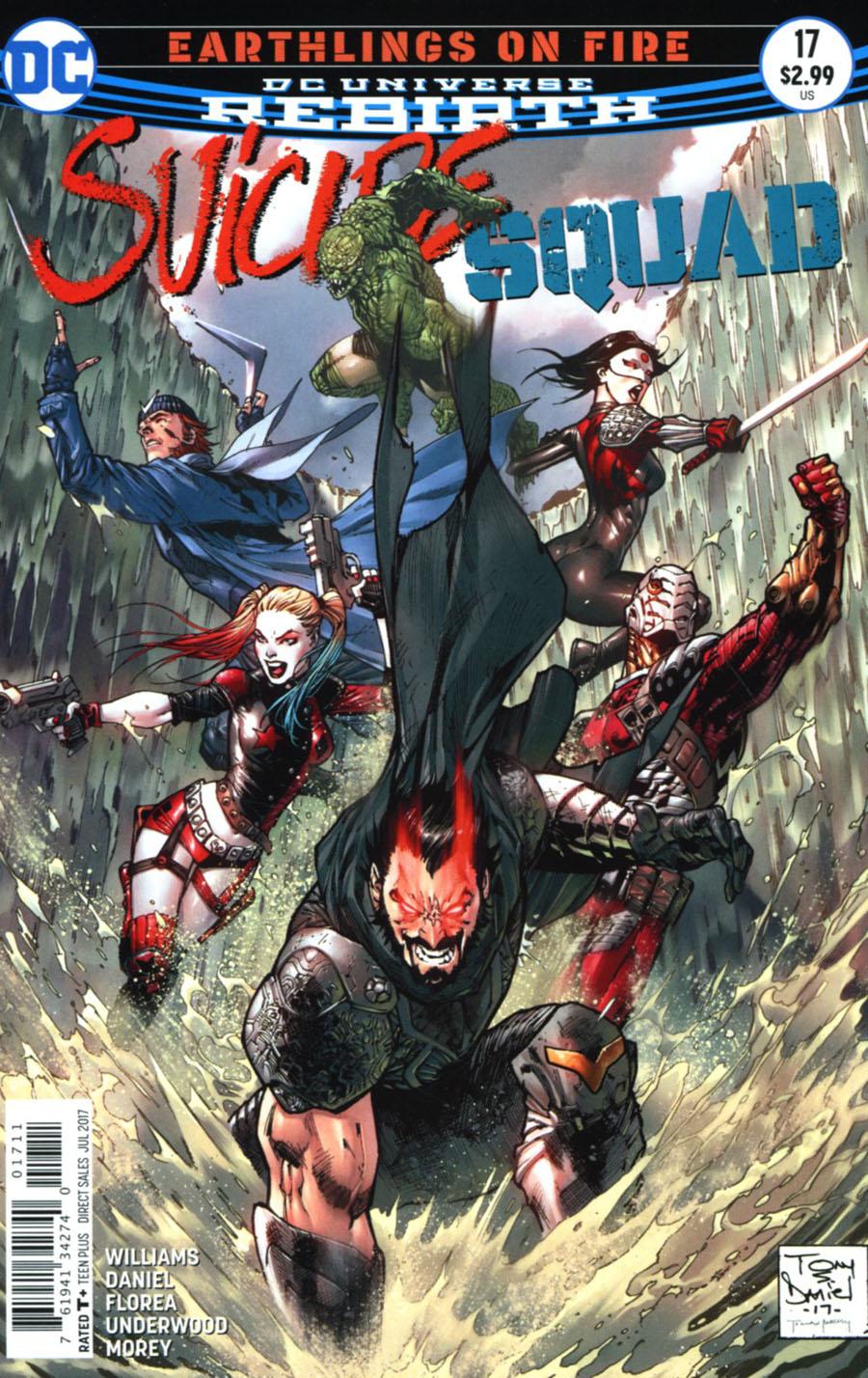 Suicide Squad Vol 4 #17 Cover A Regular Tony S Daniel Cover