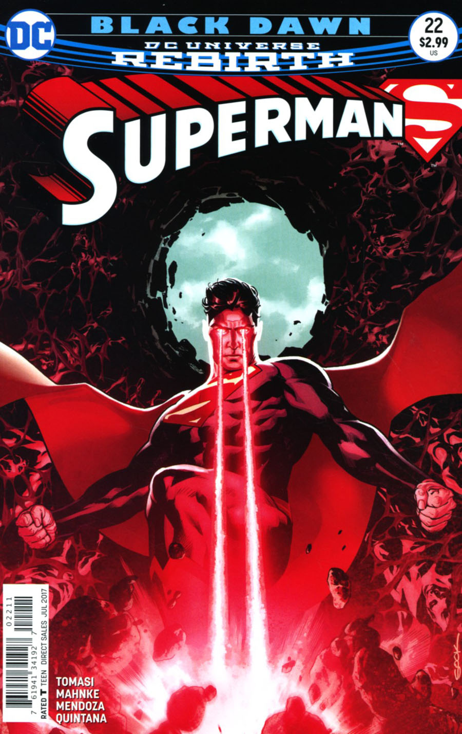Superman Vol 5 #22 Cover A Regular Ryan Sook Cover