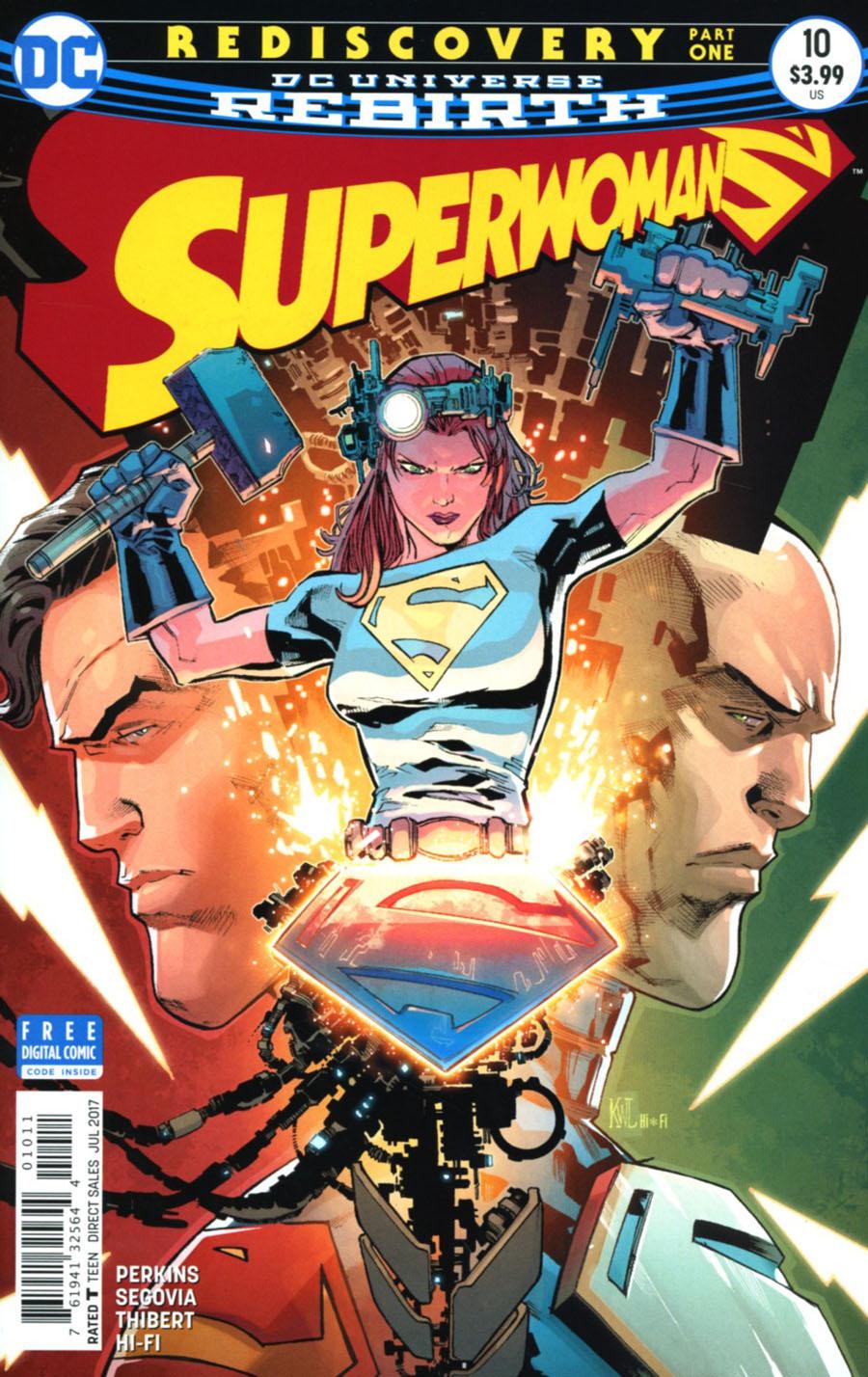 Superwoman #10 Cover A Regular Ken Lashley Cover