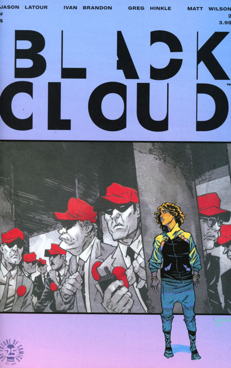 Black Cloud #2 Cover A Regular Greg Hinkle Cover