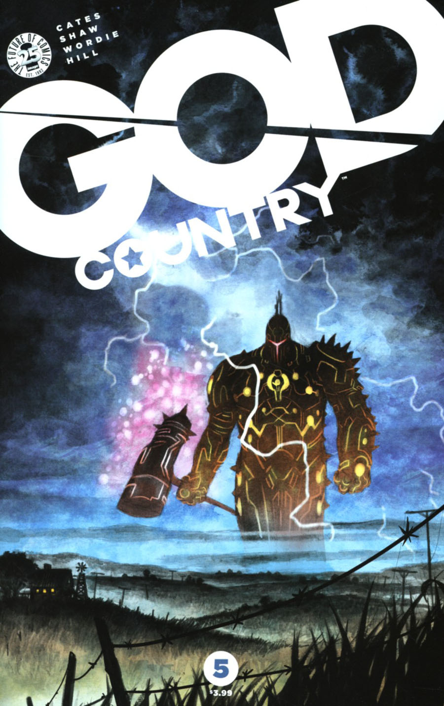 God Country #5 Cover A Regular Geoff Shaw Cover