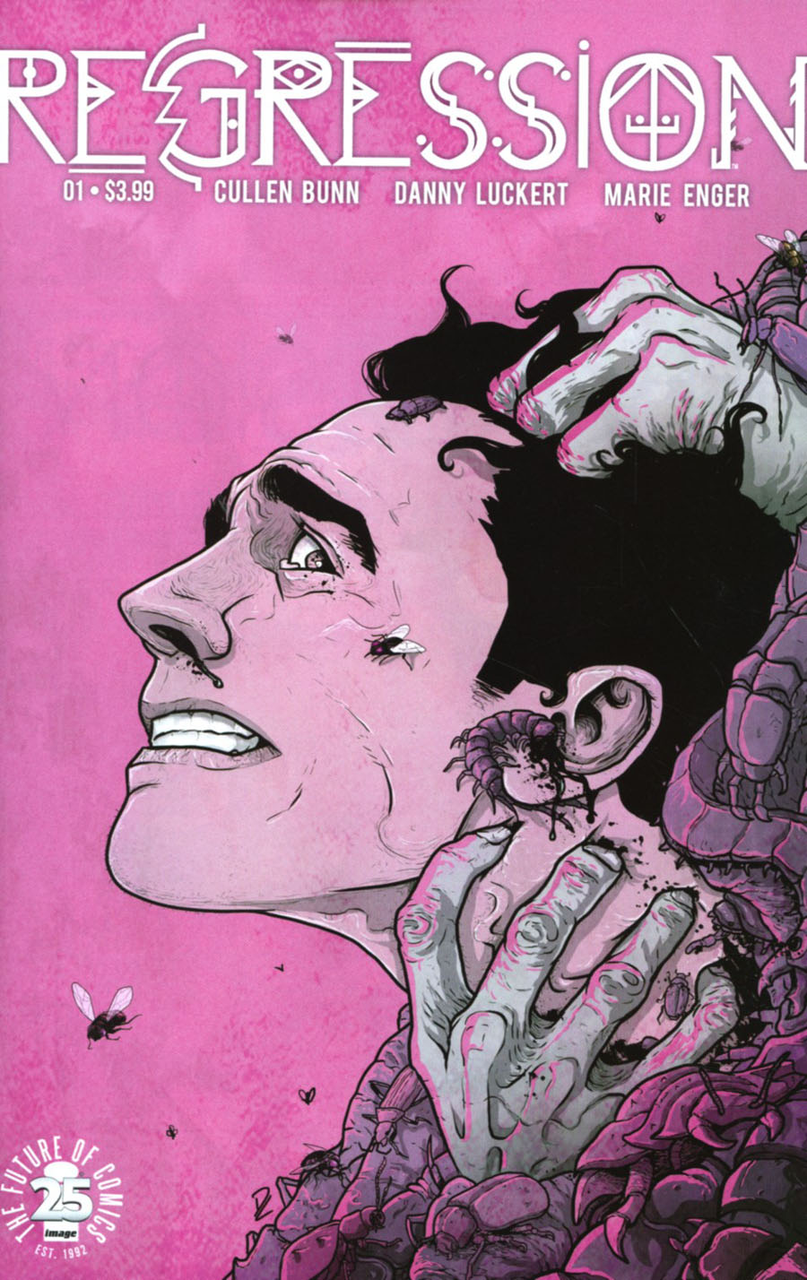 Regression #1 Cover A 1st Ptg Regular Danny Luckert Cover