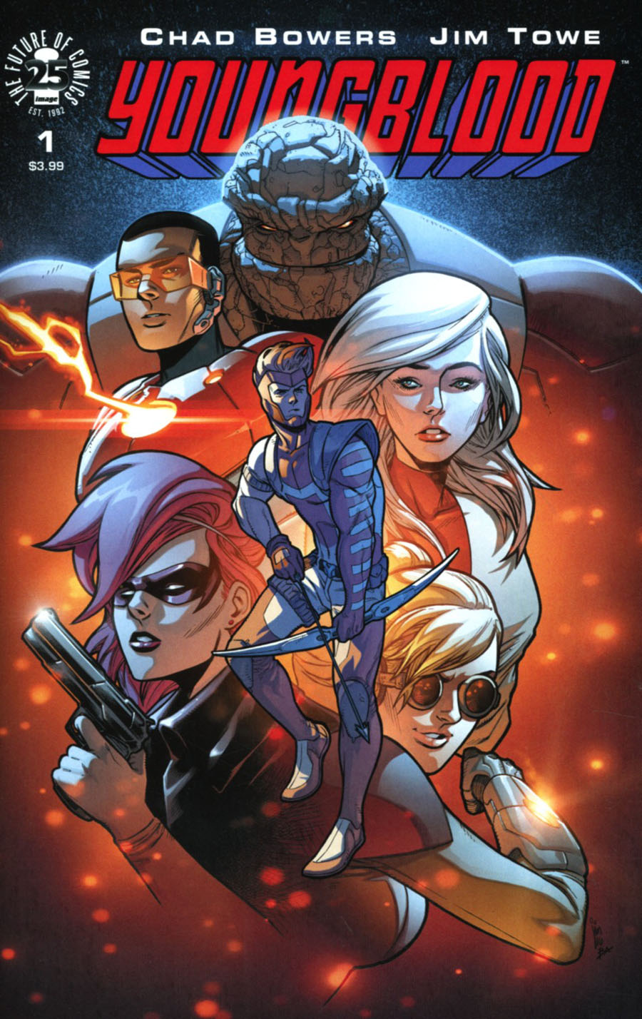 Youngblood Vol 5 #1 Cover A 1st Ptg Regular Jim Towe Cover