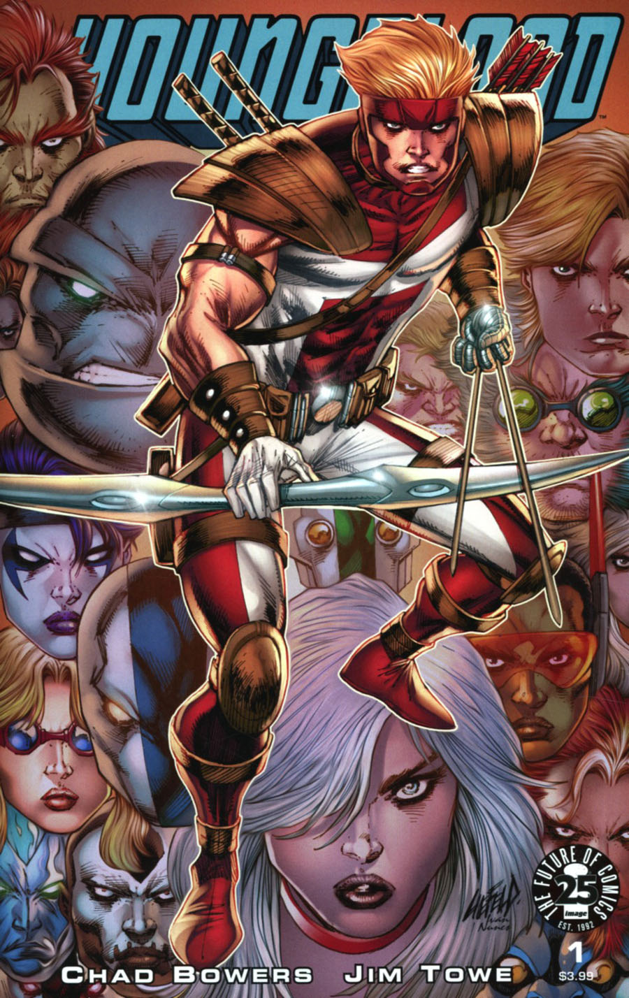 Youngblood Vol 5 #1 Cover B Variant Rob Liefeld Cover