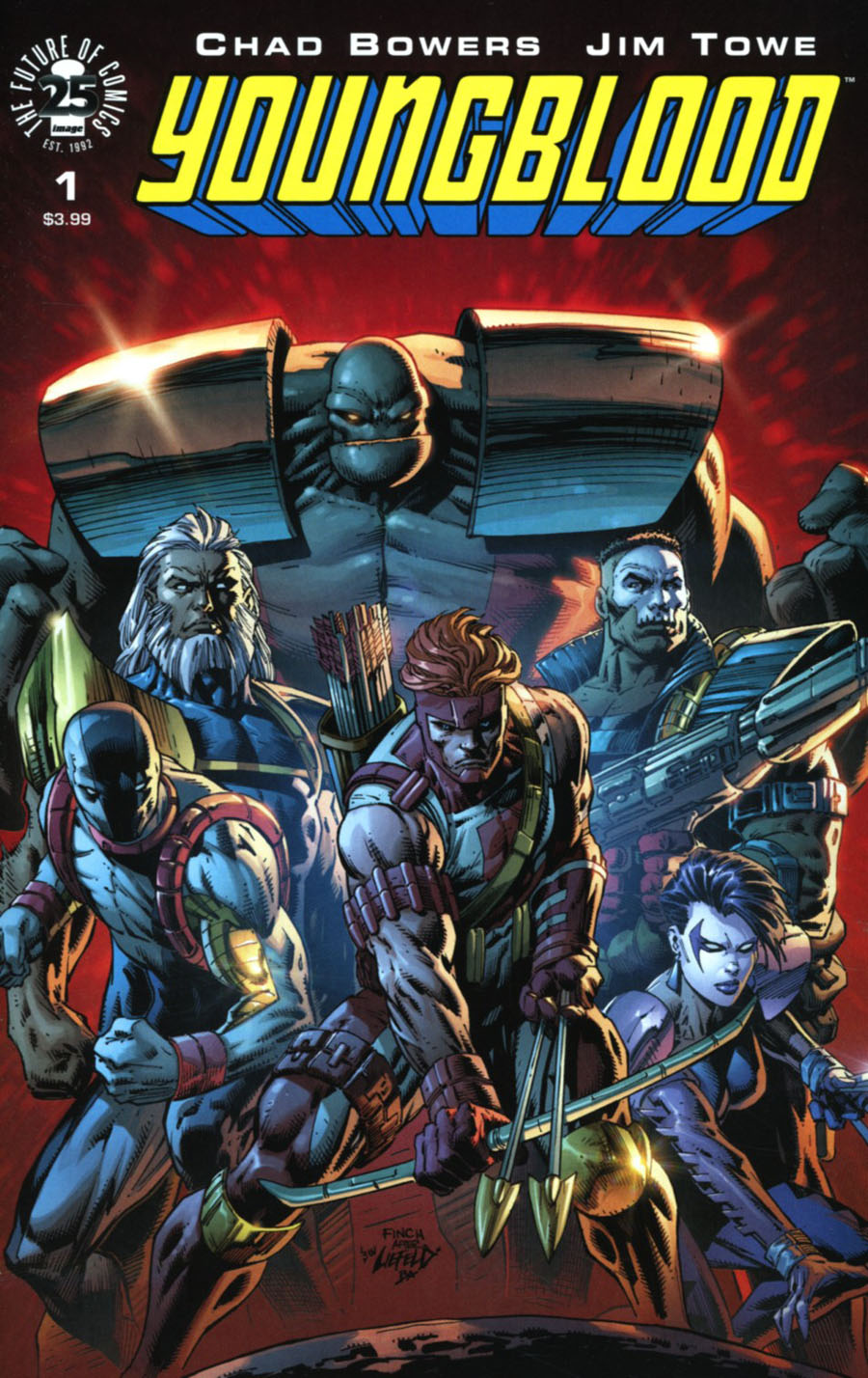 Youngblood Vol 5 #1 Cover C Variant David Finch Cover